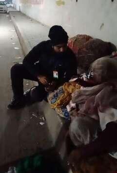 blanket distribution to needy save the humanity