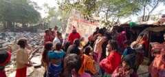 festival celebration with santa