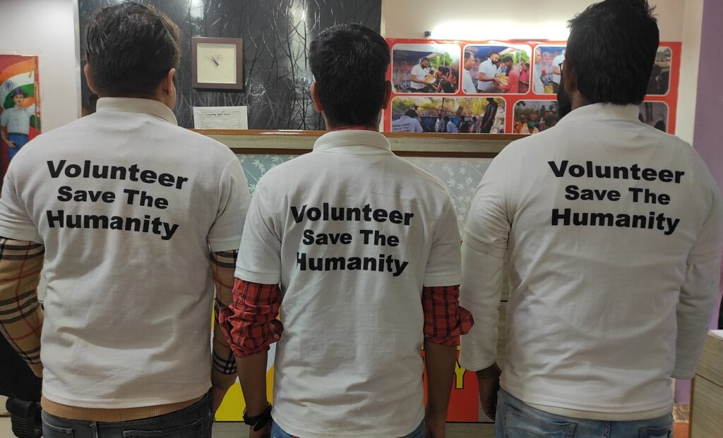 join as volunteer save the humanity