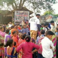save the humanity cloth distribution