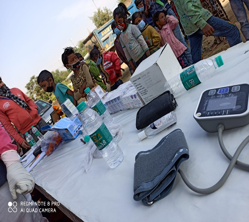save the humanity eye checkup camp for poors