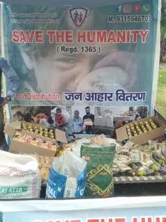save the humanity row food for distribution